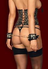 OBSESSIVE Shelle Luxury Decorative Cuffs / Handcuffs