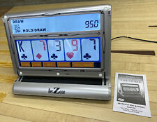 RecZone 7 In 1 Touchscreen Video Poker Electronic Game w/ Power Adapter