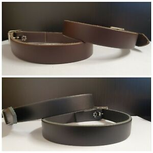 Set of 2  Real Leather Picnic Basket Straps Utility Hand Made strap 19mm P1