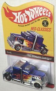 MOMC 2013 Hot Wheels RLC Neo-Classics Series 12 blue Convoy Custom 510/4500