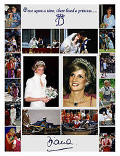 PRINCESS DIANA CANDID RETROSPECTIVE 18 PHOTO SET 1x8x10