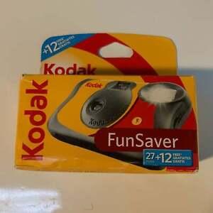 Kodak funflash SOLO USUARIO flash cámaras 800asa 27+12 Free NEW 5 Paquete
