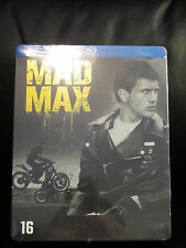Mad Max Trilogy Blu-Ray Steelbook Region Free Road Warrior Sealed in Shrink Wrap