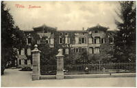 TÖLZ Bayern ~1910 alte Postkarte Strassen Partie am Kurhaus Gebäude O. Blaschke