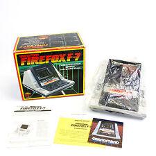 Vintage Firefox F-7 VFD Video Juego Por Grandstand, En Caja, CIB, en muy buena condición, De Colección
