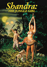 Shandra The Jungle Girl DVD, Surrender Cinema, Full Moon Features