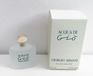 Giorgio Armani Acqua Di Gio Eau de Toilette mini Perfume, 5ml, Brand New in Box