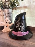 NEW Rae Dunn Black & Purple HOCUS POCUS Witch Hat Canister