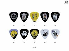 The Nightmare Before Christmas Guitar Pick Set (10pcs, Jack Skellington, Sally)