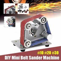 DIY Mini Belt Sander Knife Apex Edge Sharpener Polishing Grinder Machine
