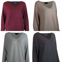 Sparkle Glitter Batwing Long Sleeve Slouch Knit Silver Black Pink Berry Jumper