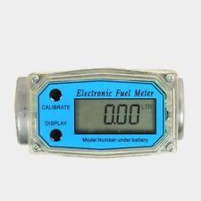 """NEW 1PC Turbine Digital Diesel Fuel Flow Meter 1"""" 10-200L/Min"""
