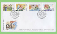 Cyprus 2000 Olympic Games - Sydney set First Day Cover