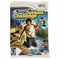 Active Life: Outdoor Challenge (Nintendo Wii, 2008) GAME ONLY Brand New Sealed