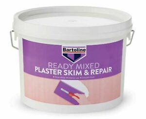 Plaster Skim and repair 2.5l mixed ready to use for interior walls and ceilings