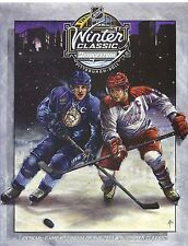 2011 NHL WINTER CLASSIC CAPITALS VS PENGUINS PROGRAM CROSBY OVECHKIN HTF