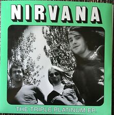 Nirvana Triple Platinum Never Mind Sub Pop Demos Kurt Cobain Hole Sonic Youth7""