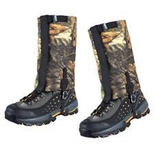 Camo Waterproof Leg Gaiters Boot Shoe Cover Walking Outdoor Legging Gators