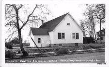 1950s Central Church of Christ Hermiston Oregon Leo RPPC Real Photo 751