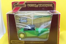 Matchbox Models of Yesteryear Y-17 1938 Hispano Suiza in Green - Diorama
