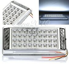 White 36 LED Car Vehicle Dome Roof Ceiling Interior Light Lamp DC 12V Silver hot