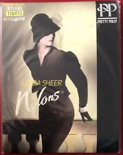Gorgeous Pretty Polly Ultra Sheer Nylons Tights Pantyhose Small admiral