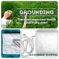 "New! Earthing / Grounding Sheet Pillow Case 30"" x 20""  📳SHIELD EMF RADIATION🛡"