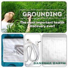 "New! Earthing / Grounding Sheet Pillow Case 30"" x 20""  SHIELD EMF RADIATION"