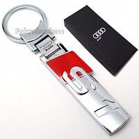 Audi S1 key ring keyring Fob Chain Quattro with gift box