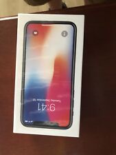NEW Apple iPhone X 64GB Space Gray (GSM Unlocked) AT&T T-MOBILE WORLDWIDE