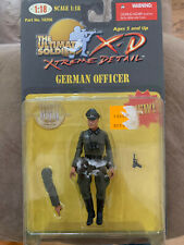 Ultimate Soldier  X D German Officer 1/18 scale 21st Century Toys New