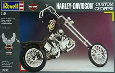HARLEY-DAVIDSON CUSTOM CHOPPER REVELL KIT 1/8  MOTORCYCLE MOTO  PLASTIC MODEL