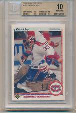 1990 Upper Deck Patrick Roy (HOF) (#153) (Sub grades 2-10's/1-9.5/1-9) BGS10 BGS