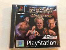 ECW Anarchy Rulz (Sony PlayStation 1, 2001) PS1 UK PAL