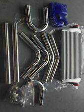 700X300X100mm INTERCOOLER + 70 mm PIPING KIT SUIT HOLDEN SKYLINE R31 VL rb30