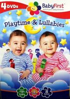 BabyFirst: Playtime & Lullabies 4 Brand NEW DVD Bundle SET Ages 3 mos. to 4 yrs.