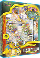 Pokemon Tag Team Generations Box Premium Collection 7 Booster Packs Sun & Moon