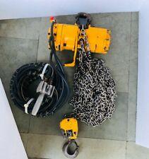 Ingersoll Rand Ml500kr 2r27 R18e Pneumatic Air Chain Hoist 12 Ton Capacity 30ft
