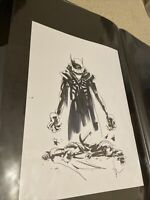 Jock Batman Who Laughs Original Art Prelim Cover Art Sketch Scott Snyder