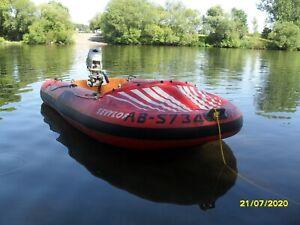 Schlauchboot Sevylor ZX340 bis 10 PS motorisierbar für 4-5 Personen