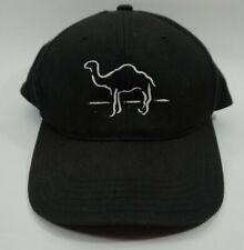 Vintage 90's Camel Cigarettes Snapback Hat Blockhead Joe Black Cap Embroidered
