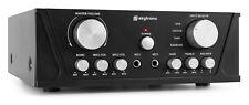 SkyTronic AV410B - Amplificateur noir avec écran, puissance de 200W