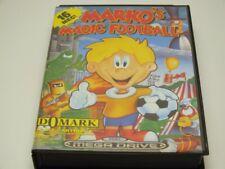 !!! Sega Mega Drive Jeu Markos magic Football Neuf dans sa boîte bien!!!