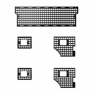 Putco For Ford F-150 2015-2021 Front Molle Panel 5.5ft (Short Box)