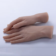 2Pcs Soft Life-size Male Realistic Mannequin Display Practice Hand Model