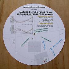 SANSUI FR-D3/D4/D25/D35/D40/D45/D55 & FR-Q5 BRACCIO STILO allineamento Goniometro