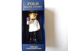 New Ralph Lauren Polo Tuxedo Teddy Bear Large Holiday Tree Ornament Collectible