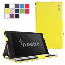 Poetic StrapBack【PU Leather】Stand Case For Google Nexus 7 2nd Gen 2013 Yellow