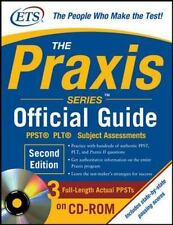 The Praxis  PPST® PLT® Subject Assessments Book Tests + CD-ROM Official Guide