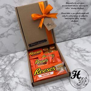 Personalised REESES Chocolate Hamper Sweet Mix Selection Gift Box Birthday xmas